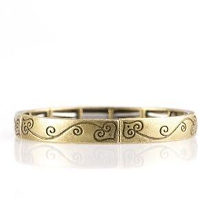 VINE With Me - Brass Bracelet